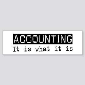 Accounting Is Bumper Sticker